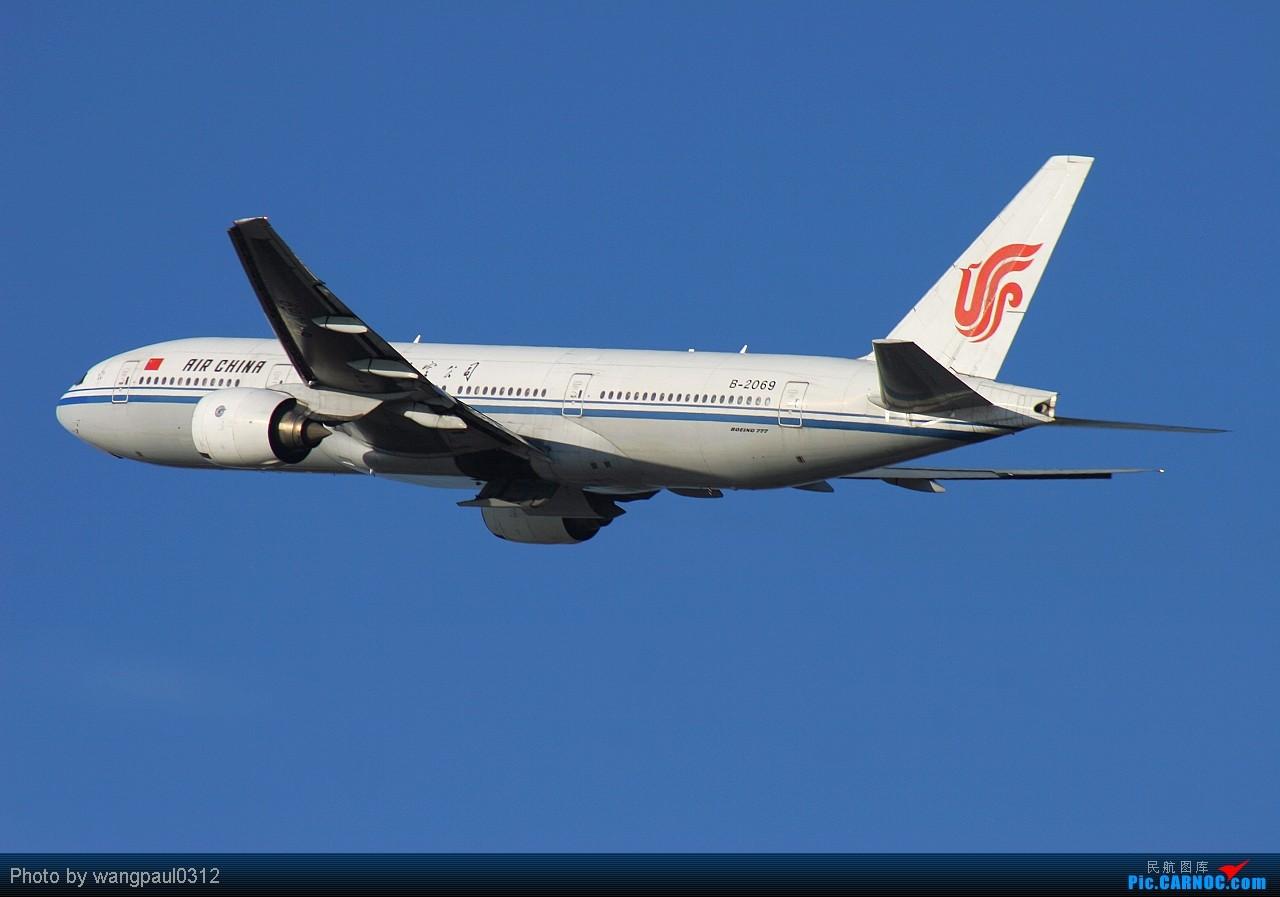 Re:[原创]向南方受暴雨袭击的同胞们表示慰问!盼望受灾的人们早日恢复生产,重建家园 BOEING 777-200 B-2069 北京首都国际机场