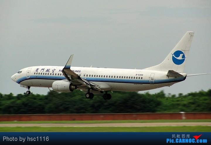 Re:[原创]第一次拍机,WUH 22头,深航扎堆,锦绣湖北,航校小飞机,运5超短距起飞。。。。。标题要长 BOEING 737-800 B-5355 中国武汉天河机场