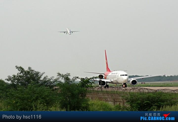 Re:[原创]第一次拍机,WUH 22头,深航扎堆,锦绣湖北,航校小飞机,运5超短距起飞。。。。。标题要长 BOEING 737-800 B-5187 中国武汉天河机场