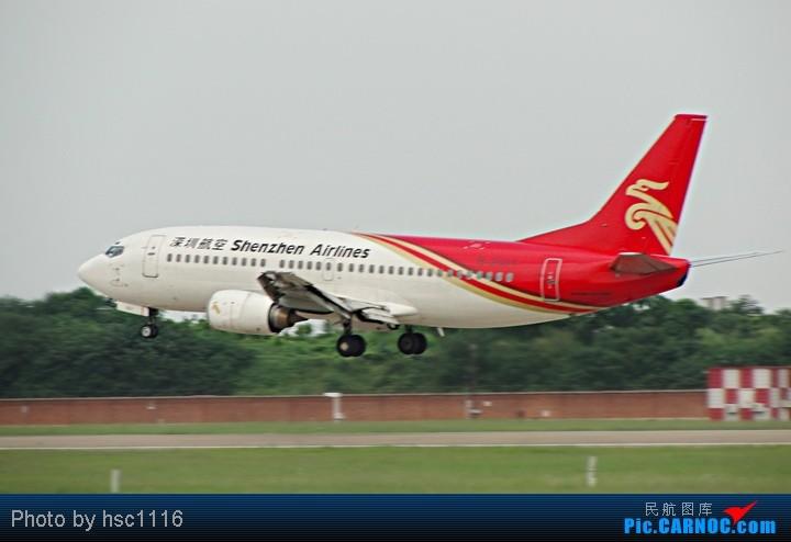 Re:[原创]第一次拍机,WUH 22头,深航扎堆,锦绣湖北,航校小飞机,运5超短距起飞。。。。。标题要长 BOEING 737-300 B-2601 中国武汉天河机场