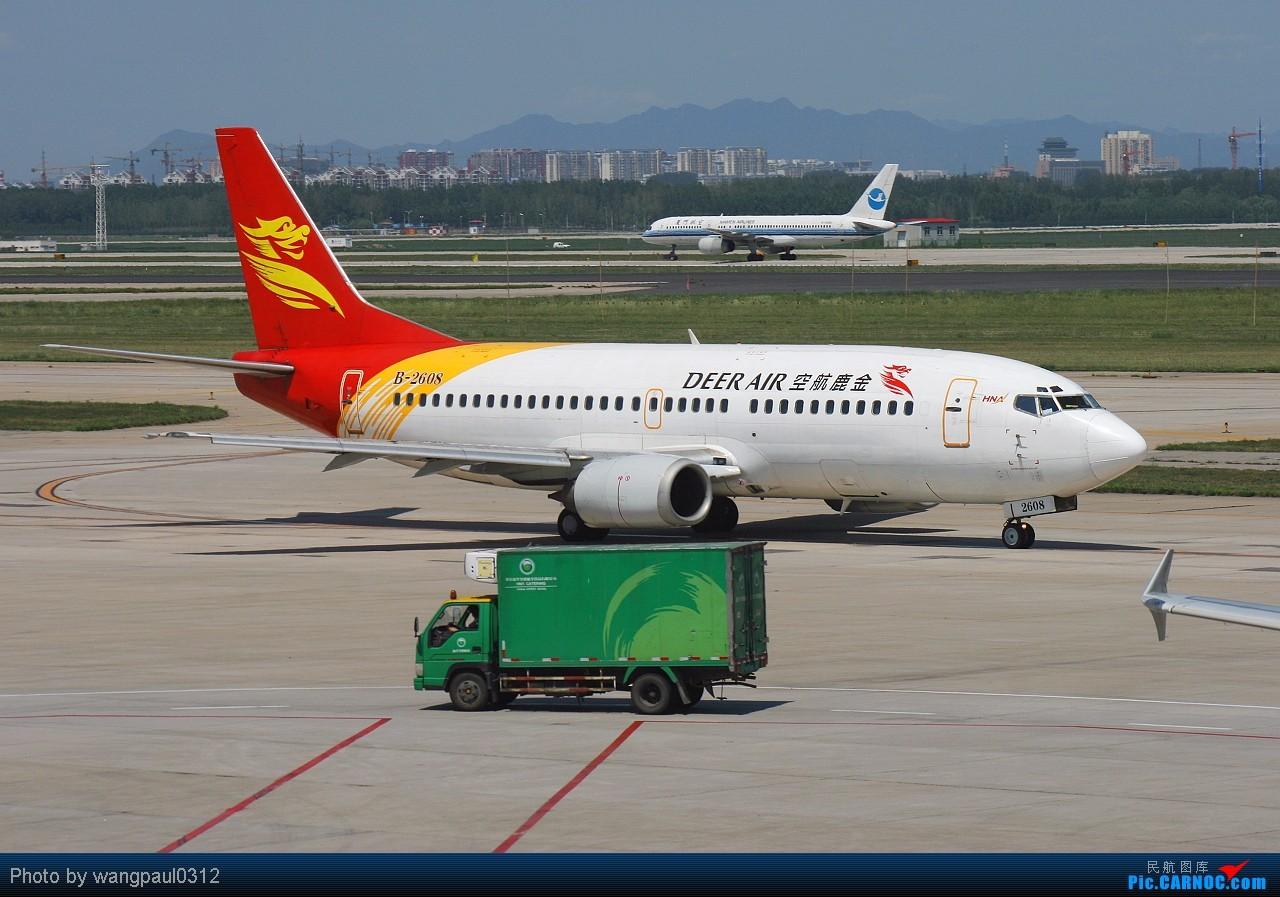 Re:[原创]坚持以C网为中心,坚持克服一切困难拍机,努力学习后期技术,争取有更大的进步! BOEING 737-300 B-2608 北京首都国际机场