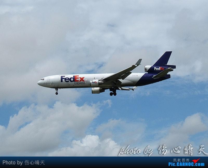Re:[原创]7.24浦东拍机,打到不少新货。飞机自然要拍,但更要拍的是着实不多见的蓝天白云超透景观! MCDONNELL DOUGLAS MD-11 N523FE 中国上海浦东机场