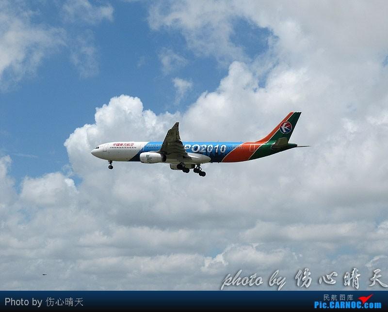 Re:[原创]7.24浦东拍机,打到不少新货。飞机自然要拍,但更要拍的是着实不多见的蓝天白云超透景观! AIRBUS A330-300 B-6100 中国上海浦东机场
