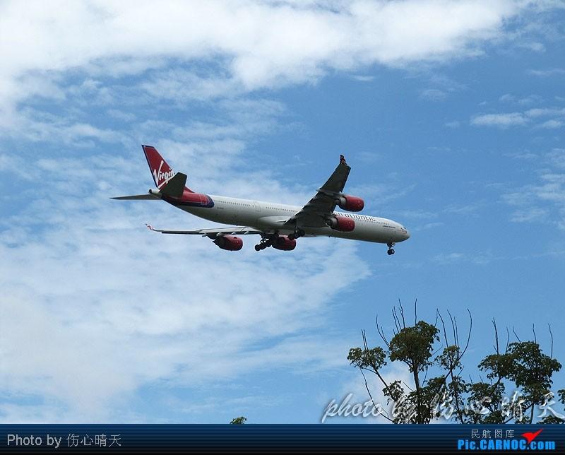 Re:[原创]7.24浦东拍机,打到不少新货。飞机自然要拍,但更要拍的是着实不多见的蓝天白云超透景观! AIRBUS A340-600 G-VFOX 中国上海浦东机场