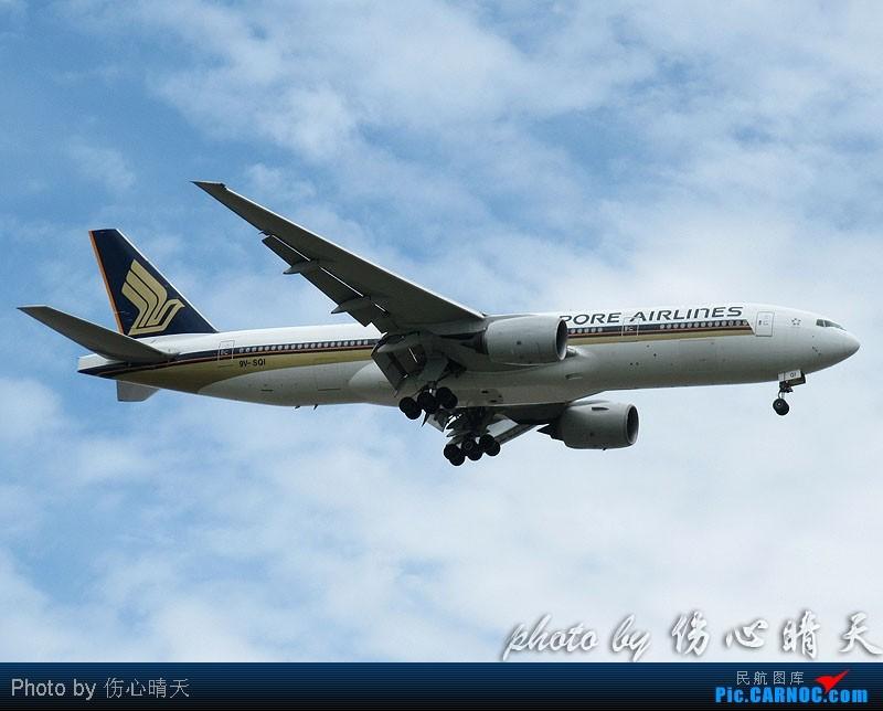 Re:[原创]7.24浦东拍机,打到不少新货。飞机自然要拍,但更要拍的是着实不多见的蓝天白云超透景观! BOEING 777-200 9V-SQI 中国上海浦东机场