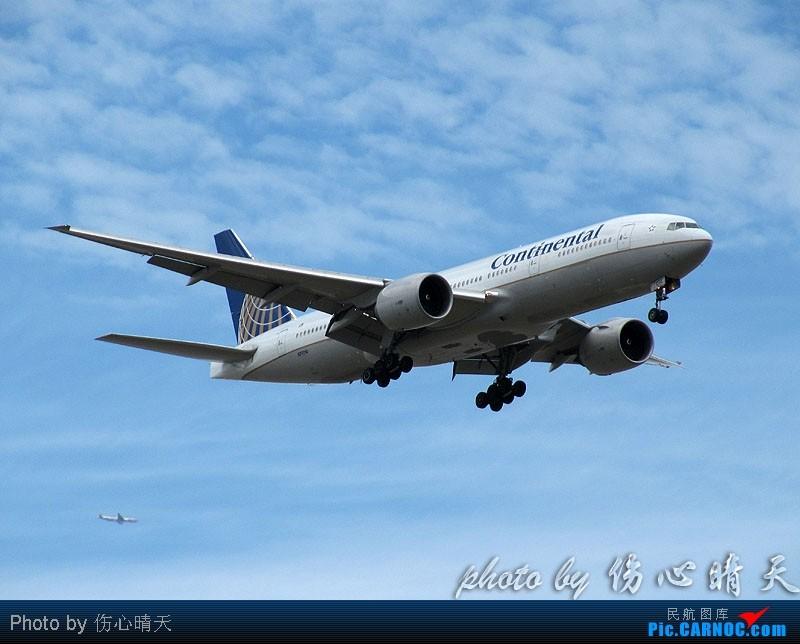 Re:[原创]7.24浦东拍机,打到不少新货。飞机自然要拍,但更要拍的是着实不多见的蓝天白云超透景观! BOEING 777-200 N77014 中国上海浦东机场