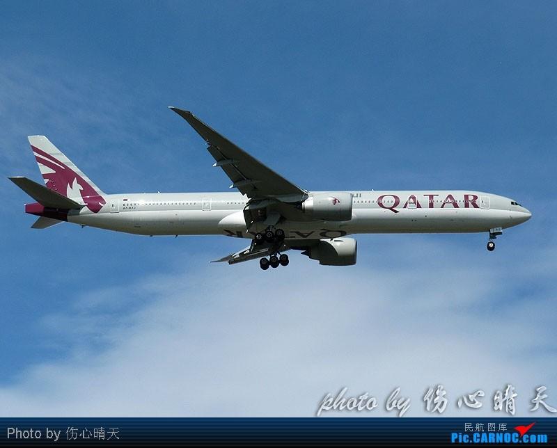 Re:[原创]7.24浦东拍机,打到不少新货。飞机自然要拍,但更要拍的是着实不多见的蓝天白云超透景观! BOEING 777-300ER A7-BAJ 中国上海浦东机场