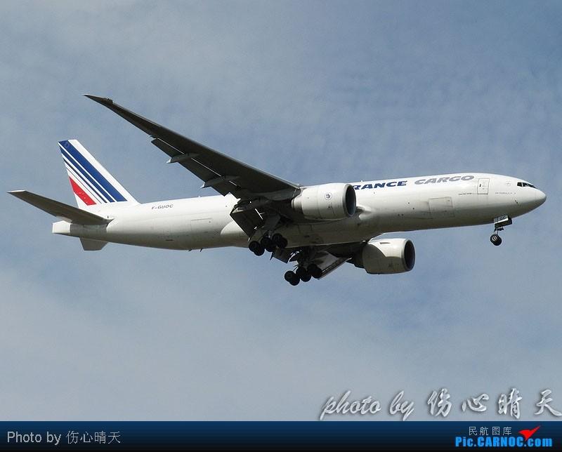 Re:[原创]7.24浦东拍机,打到不少新货。飞机自然要拍,但更要拍的是着实不多见的蓝天白云超透景观! BOEING 777-200 F-GUOC 中国上海浦东机场