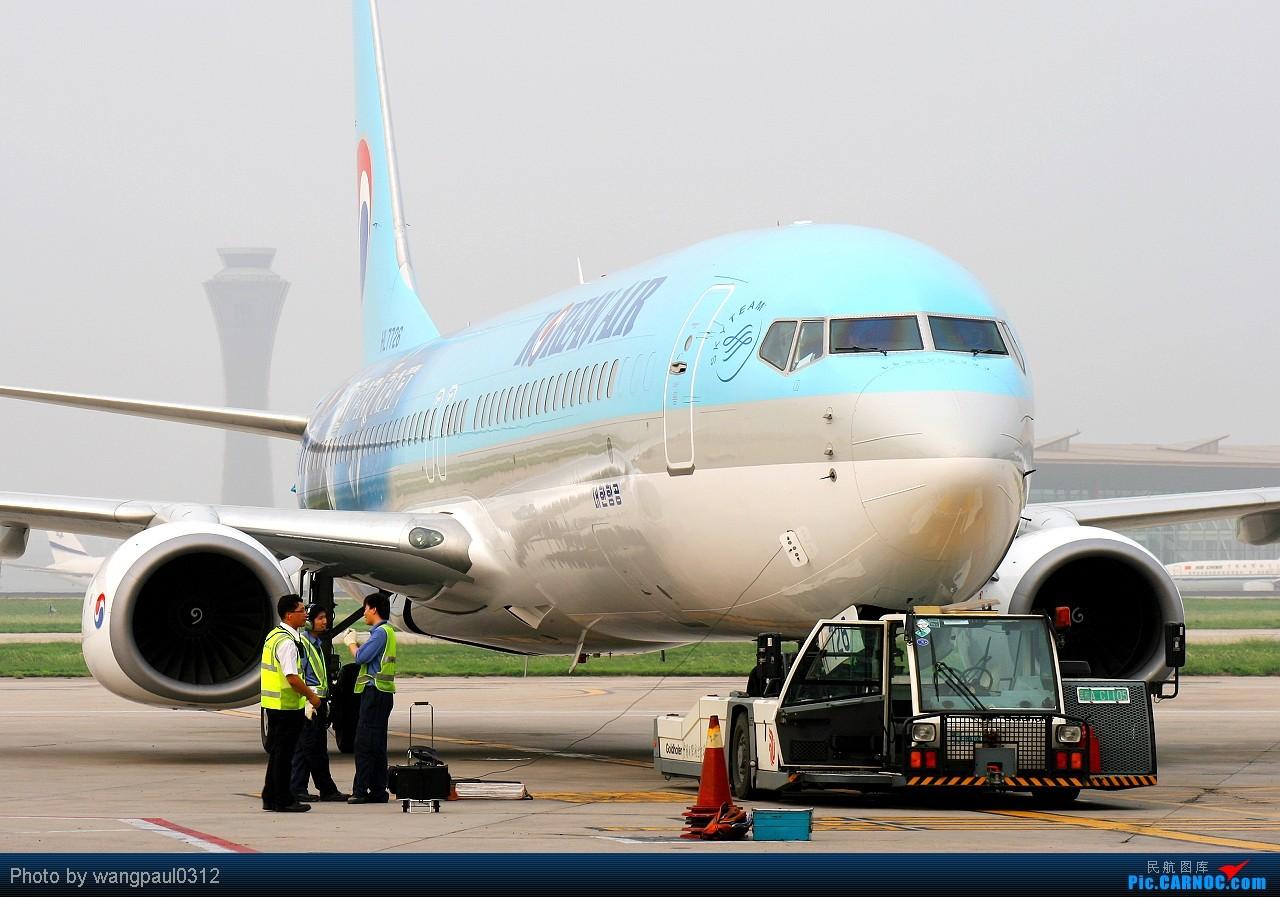 Re:[原创]虽然是个烂天,但是却印证了烂天来好飞机的魔鬼定律,永恒的,难以改变的 BOEING 737-9B5 HL7726 北京首都国际机场