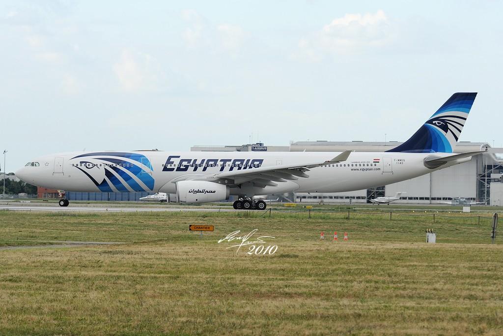 Re:[原创]首发,埃及航空首架330-343X在图卢兹试航和第三架A400M落地 AIRBUS A330-343X F-WWKQ 法国图卢兹布拉尼亚克机场