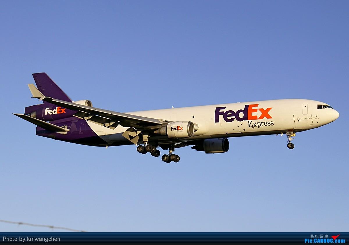平安是福 MCDONNELL DOUGLAS MD-11(F) N598FE 澳大利亚悉尼金斯福德·史密斯机场