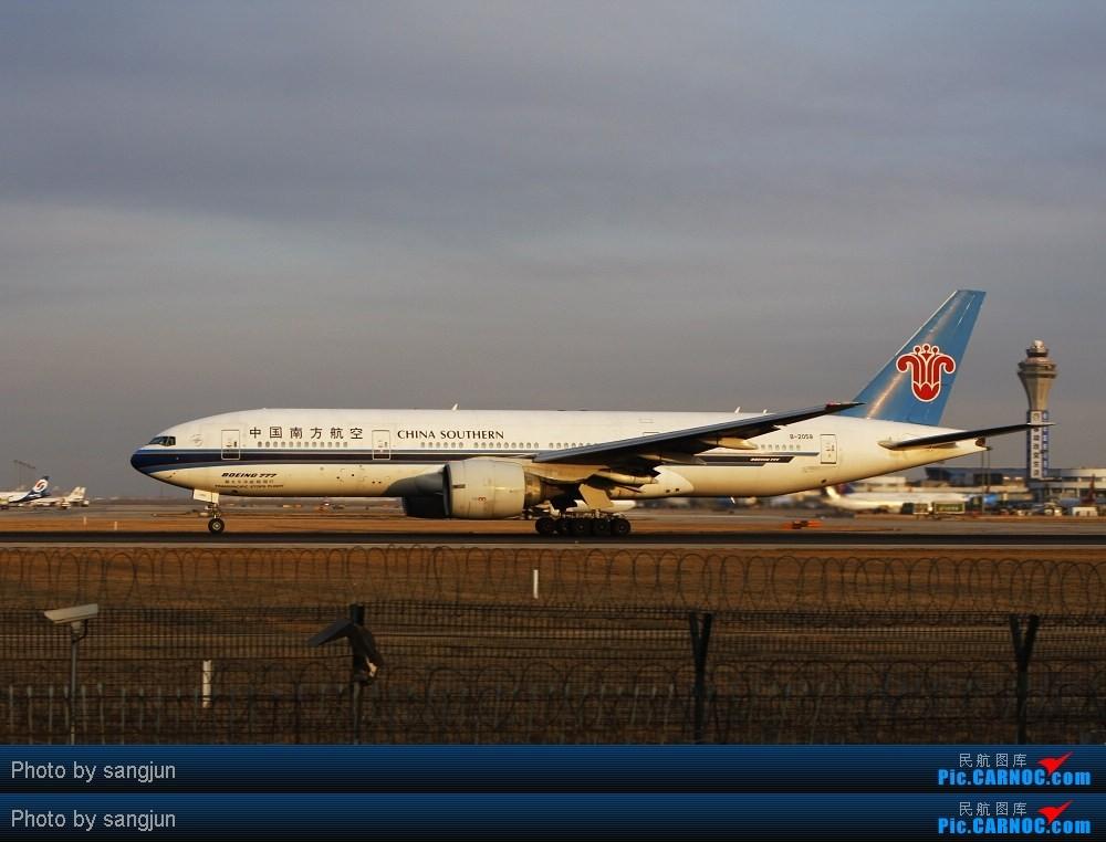 Re:[原创]贡献一组大头照!顶帖送飞机!跟帖同一架飞机送五架!(每人只限一次) BOEING 777-200 B-2058 中国北京首都机场