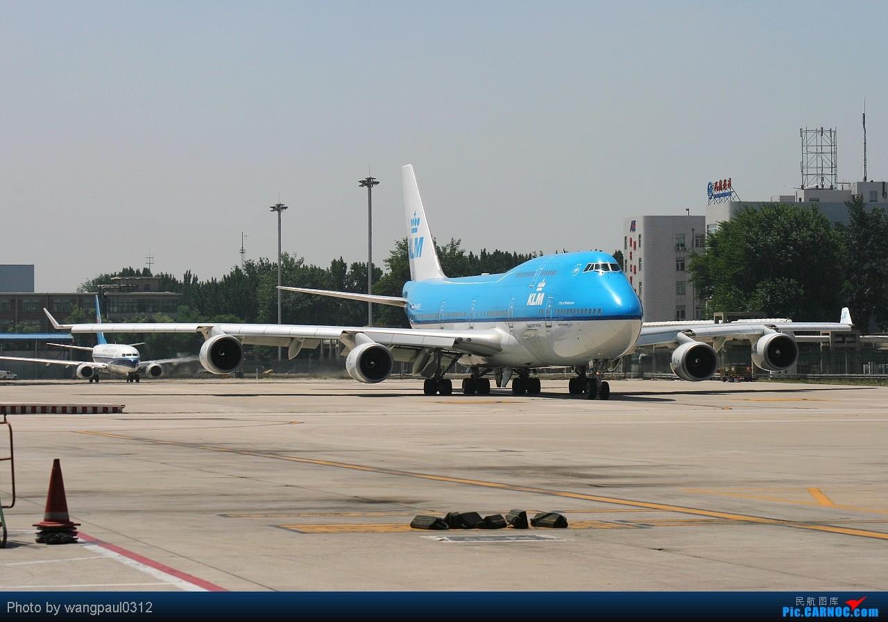 Re:[原创]◇◇◇◇◇邮戳联盟一家亲◇◇◇◇◇ BOEING 747-406(M) PH-BFE 北京首都国际机场