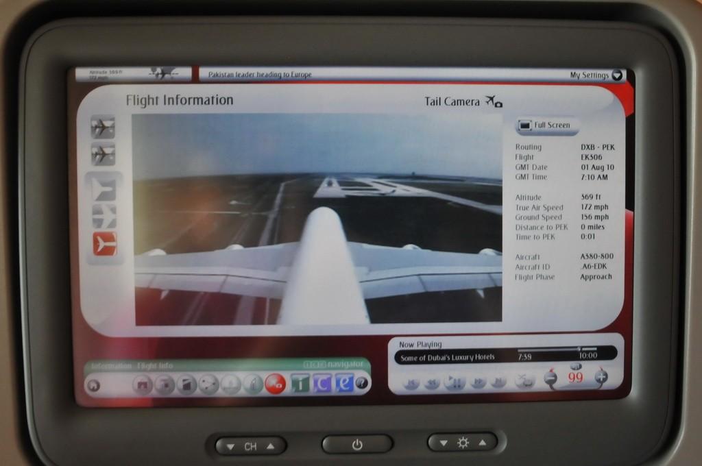 Re:[原创]PEK游记(28):2010年8月1日 EK306 迪拜-北京 阿联酋航空A380首航中国全记录! A380-800 A6-EDK 空中