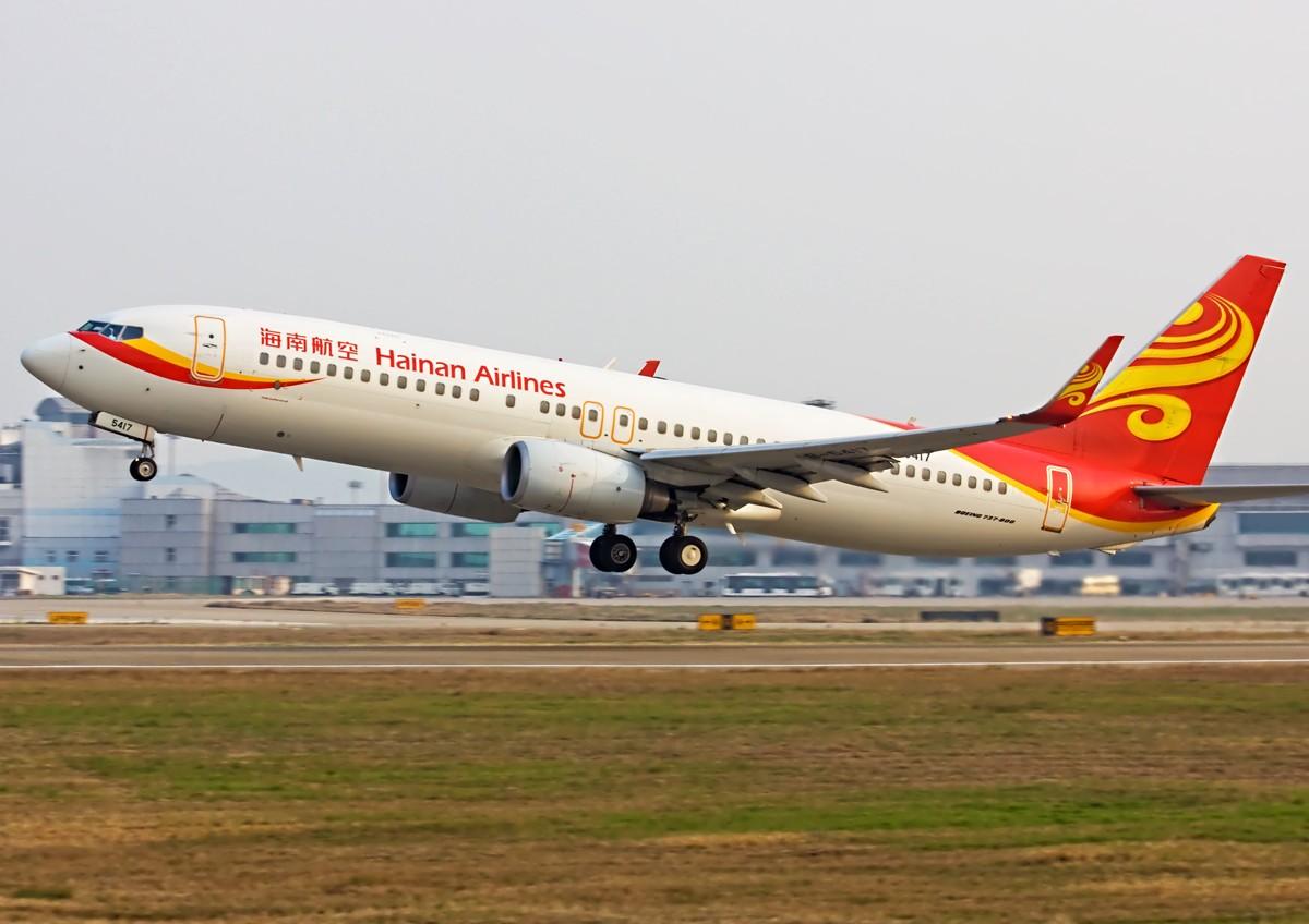 Re:[原创]国航、海航、东航。 BOEING 737-800 B-5417 中国南京禄口机场