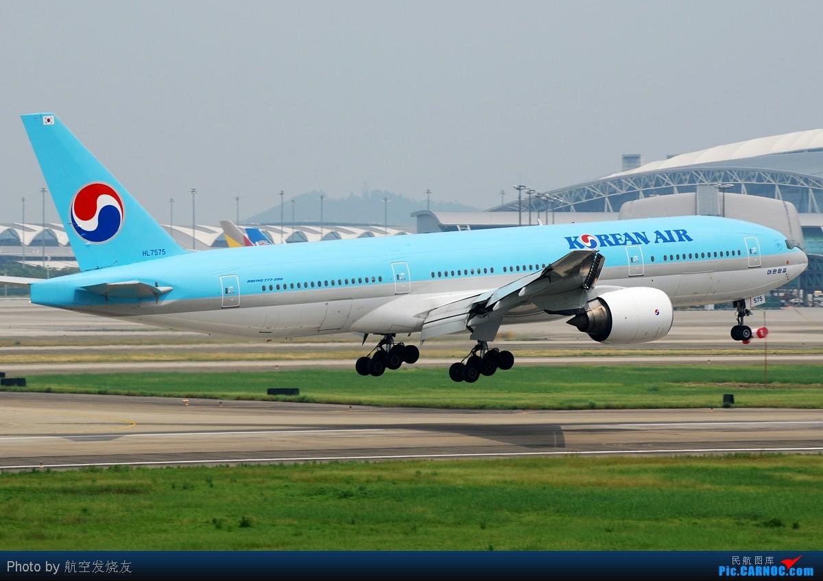 [原创](CAN的精彩)----万事俱备,只待东风! BOEING 777-200 HL7575 中国广州白云机场