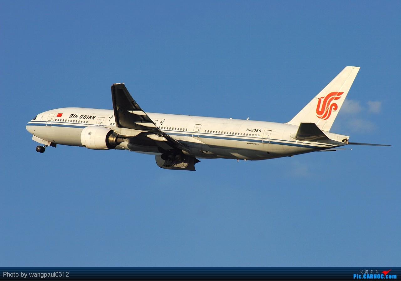 Re:[原创]☆☆☆首都机场的美国波音公司系列,从小到大!☆☆☆ BOEING 777-200 B-2068 北京首都国际机场