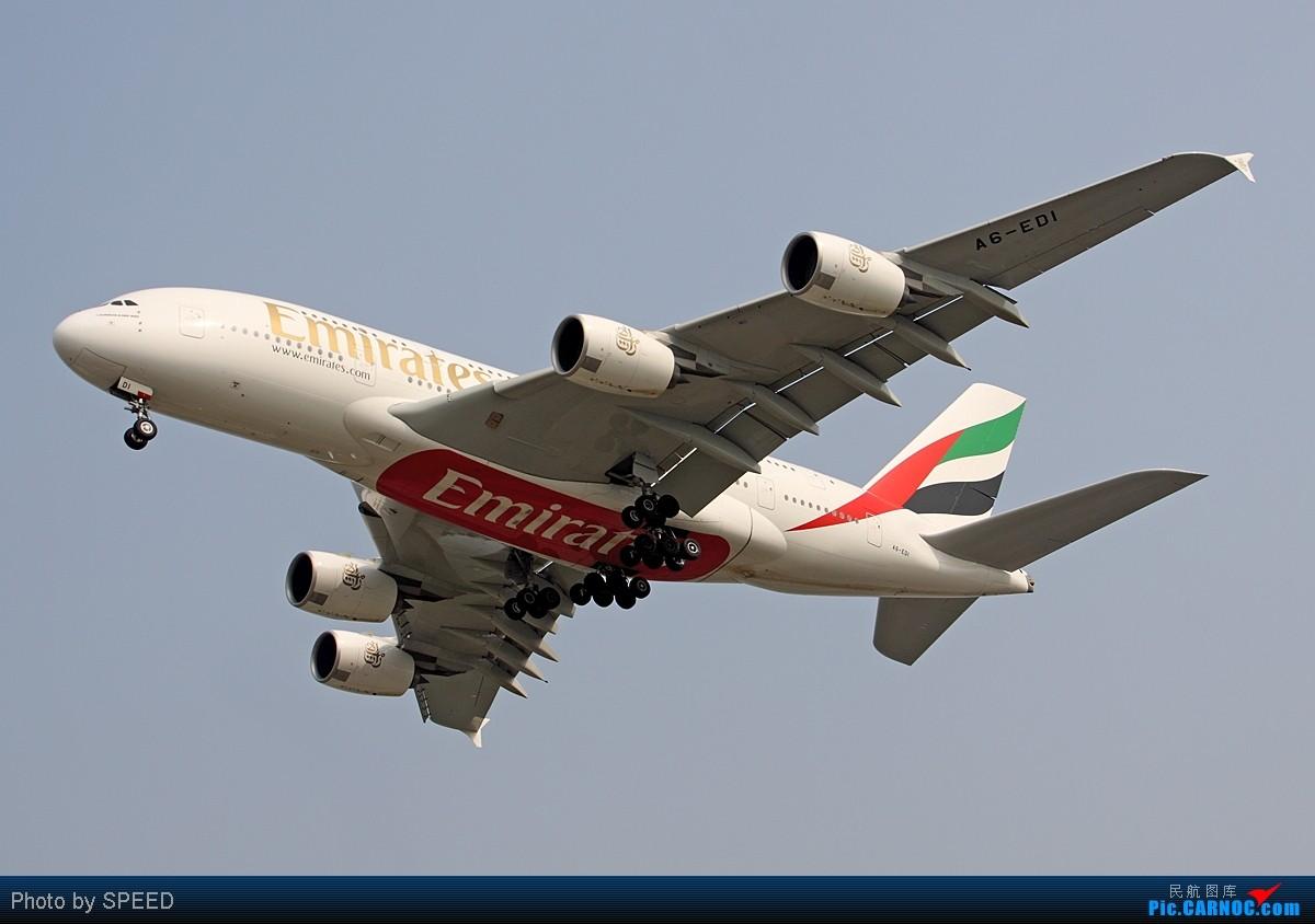 Re:[原创]北京经典的怪圈:烂天好飞机,大韩星际、世博321、泰没谱的772...... AIRBUS A380 A6-EDI 中国北京首都机场