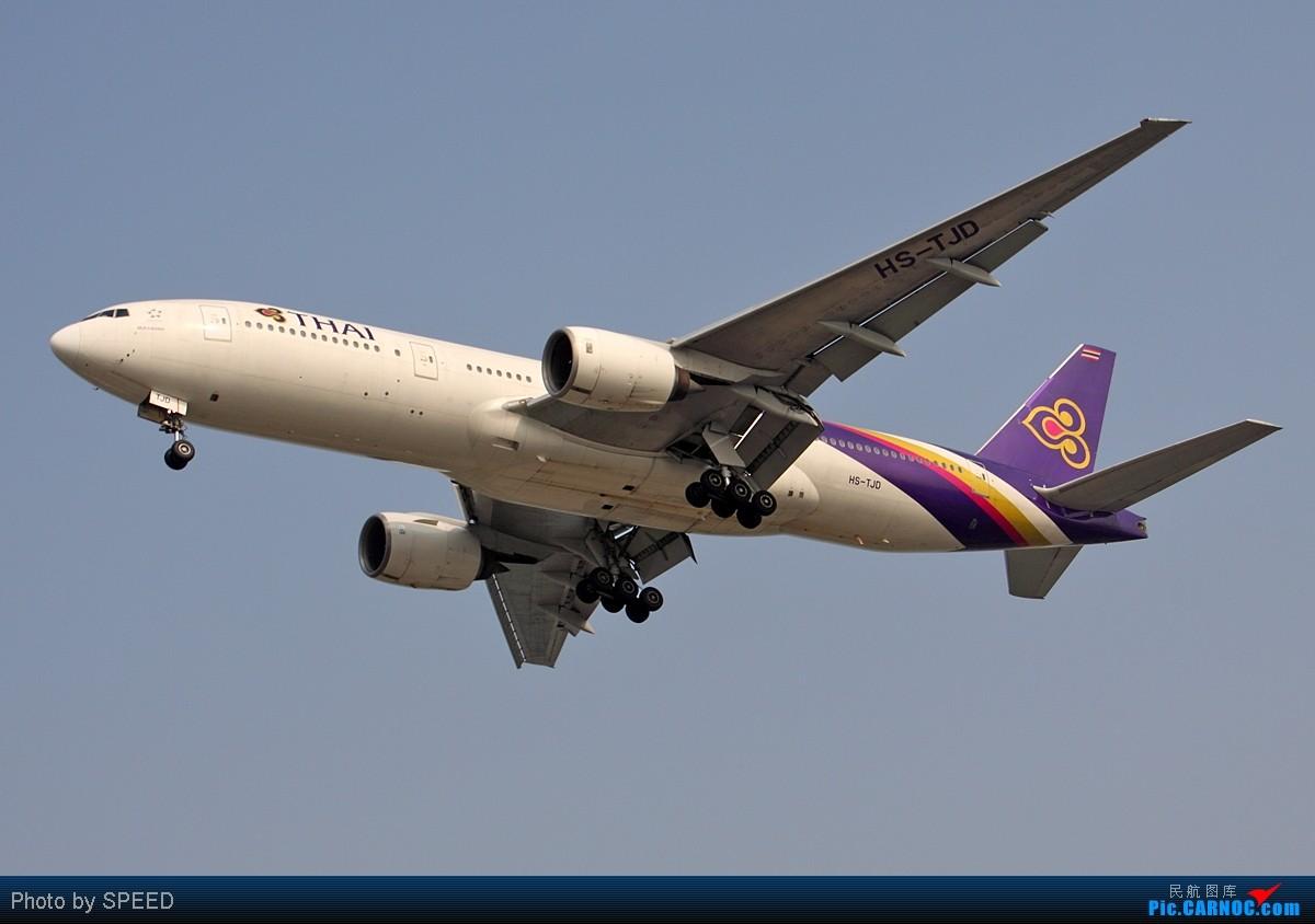 Re:[原创]北京经典的怪圈:烂天好飞机,大韩星际、世博321、泰没谱的772...... BOEING 777-200 HS-TJD 中国北京首都机场