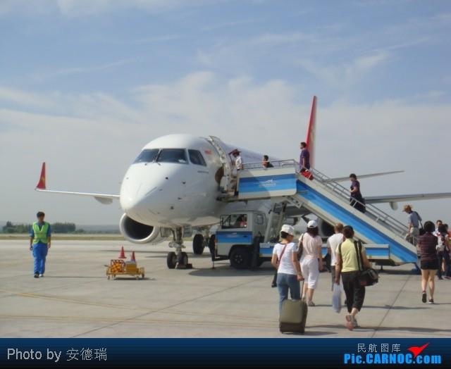 Re:【小安出品(4)】***飞向中国的瑞士——喀纳斯***第二集【AAT-YIN】【体验天津航空疆内航班】 EMBRAER ERJ-190LR B-3168 中国阿勒泰机场