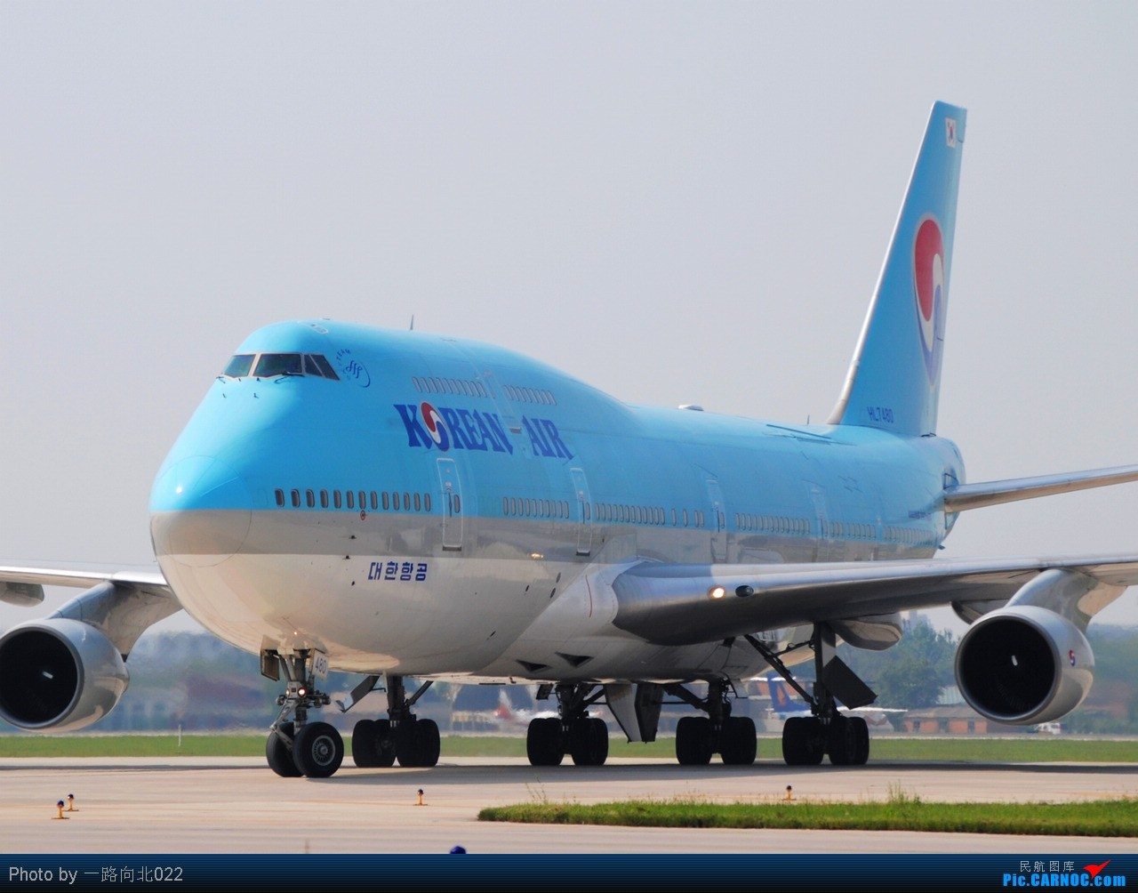 Re:**TSN**TSN** 踏踏实实发图 不能急功近利 BOEING 747-400F HL7480 中国天津滨海机场