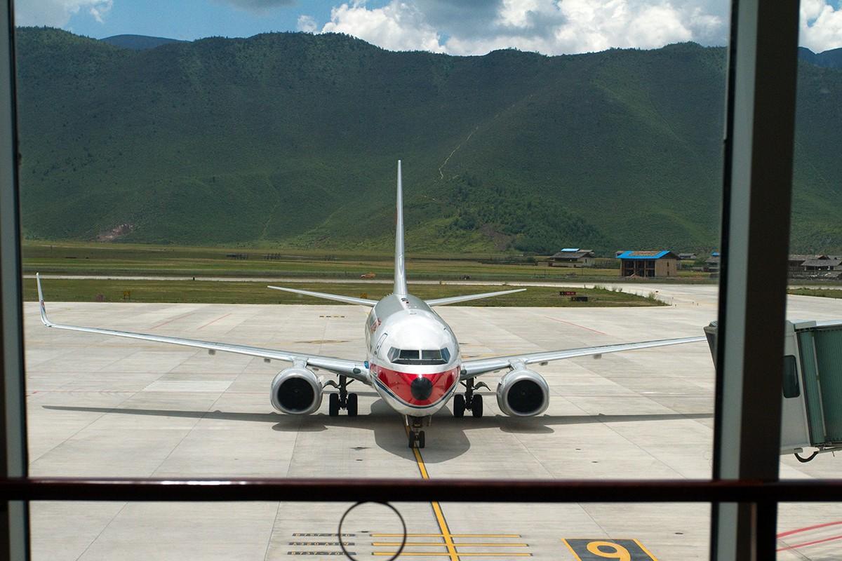 Re:[原创]【BLDDQ】******迪庆----昆明,高原机场香格里拉感觉不错******    中国迪庆香格里拉机场