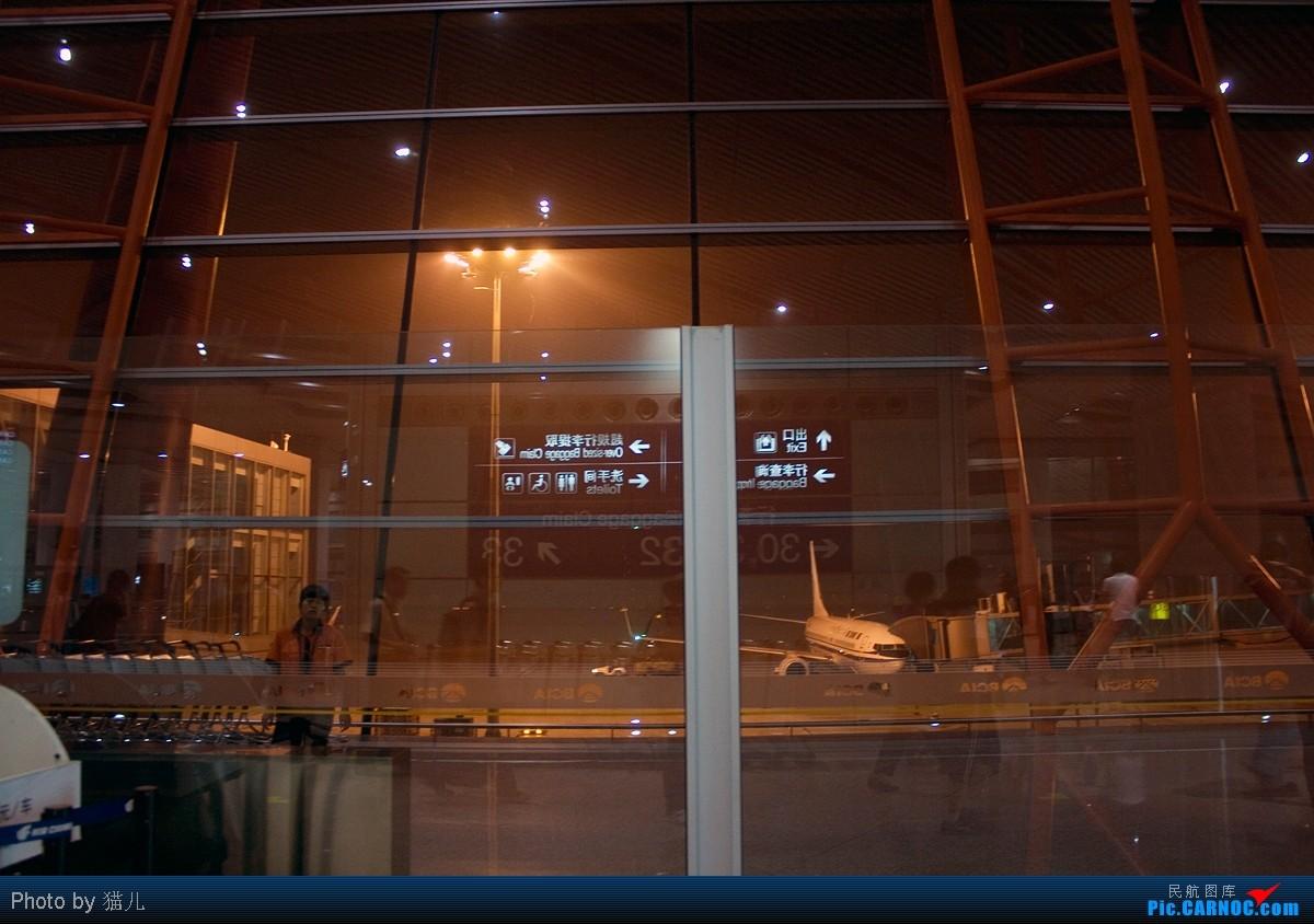 Re:[原创][CASG]猫儿的非常简陋游记之我的767第一次from CAN to PEK    中国北京首都机场