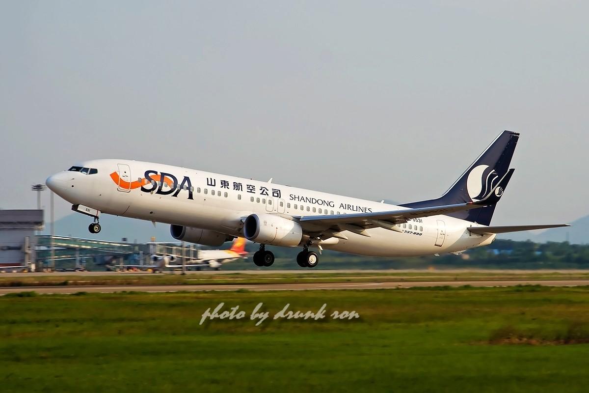 [原创]NKG——山航 BOEING 737-800 B-5531 中国南京禄口机场