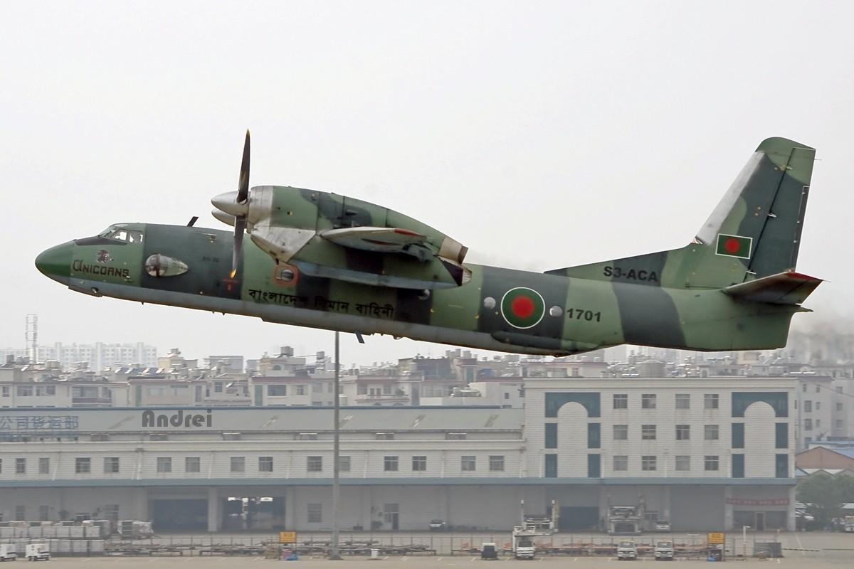 Re:[原创][Andrei] 阴霾天——来自孟加拉的安东诺夫电风扇 AN-32 S3ACA 中国昆明巫家坝机场