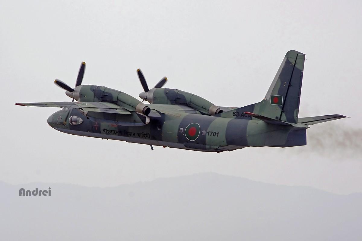 Re:[原创][Andrei] 阴霾天——来自孟加拉的安东诺夫电风扇 AN-32 S3-ACA 中国昆明巫家坝机场