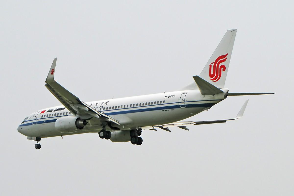 Re:八卦台拍机 主打国航 BOEING 737-800 B-5497 中国北京首都机场