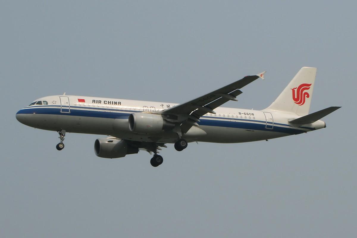 Re:[原创]八卦台拍机 主打国航 AIRBUS A320-200 B-6608 中国北京首都机场