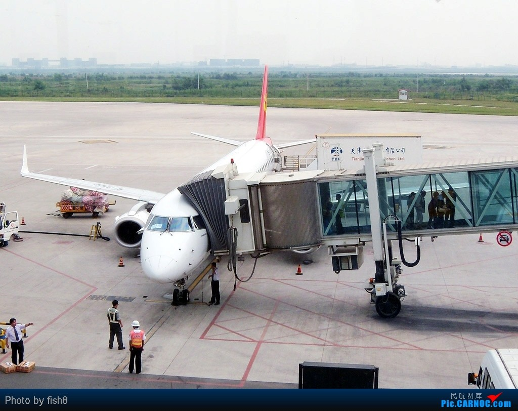 Re:[原创]【长春飞友会】fish8坐飞机(15)二次邂逅TSN和川航的B-6185 TSN-CGQ EMBRAER ERJ-190 B-3122 中国天津滨海机场