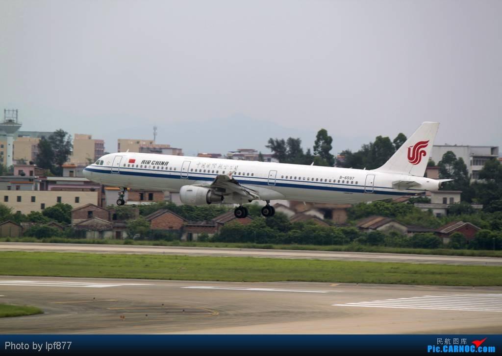 Re:[原创]【长春飞友会】长春飞友第一次拍广州白云,第一次看见越南航空的A350,太多的第一次~~! AIRBUS A321 B-6597 中国广州白云机场