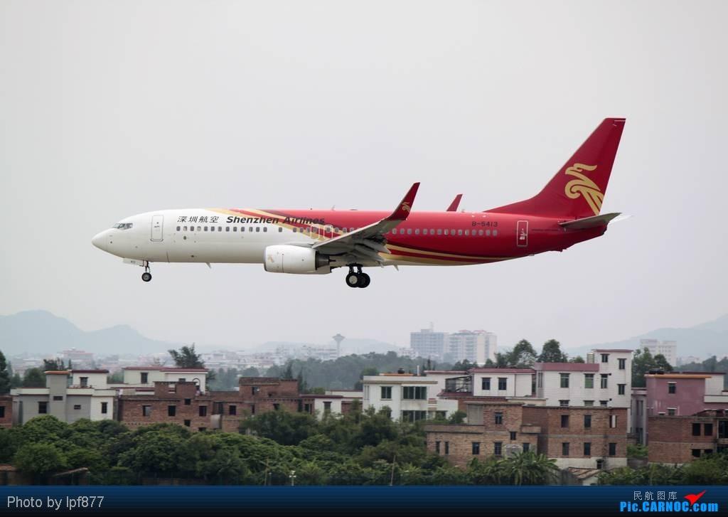 Re:[原创]【长春飞友会】长春飞友第一次拍广州白云,第一次看见越南航空的A350,太多的第一次~~! BOEING 737-800 B-5413 中国广州白云机场
