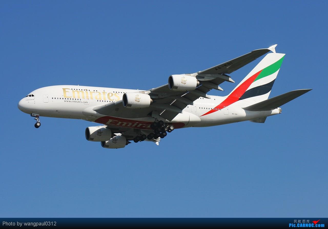 [原创]发个380的专辑,起飞、降落不同的角度。还有一首极具争议的歌曲------《阿里夯豆》 AIRBUS A380-861 A6-EDI 北京首都国际机场