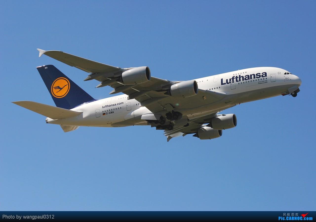 Re:[原创]发个380的专辑,起飞、降落不同的角度。还有一首极具争议的歌曲------《阿里夯豆》 AIRBUS A380-841 D-AIMA 北京首都国际机场