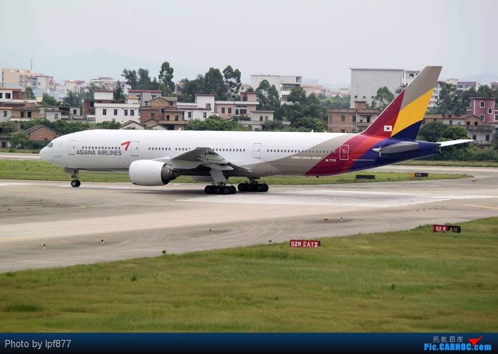 Re:[原创]【长春飞友会】长春飞友第一次拍广州白云,第一次看见越南航空的A350,太多的第一次~~! BOEING 777-200 HL7732 中国广州白云机场