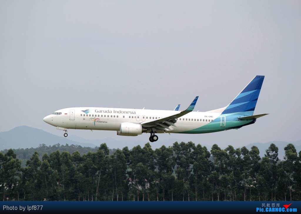 Re:[原创]【长春飞友会】长春飞友第一次拍广州白云,第一次看见越南航空的A350,太多的第一次~~! BOEING 737-800 PK-GME 中国广州白云机场