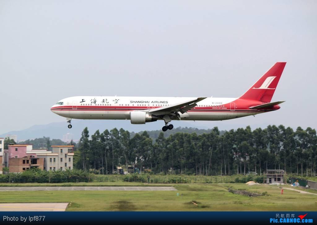 Re:[原创]【长春飞友会】长春飞友第一次拍广州白云,第一次看见越南航空的A350,太多的第一次~~! BOEING 767-300 B-2498 中国广州白云机场