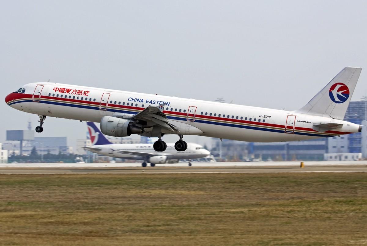 [原创]…………321:飞棍………… AIRBUS A321-200 B-2291 中国南京禄口机场