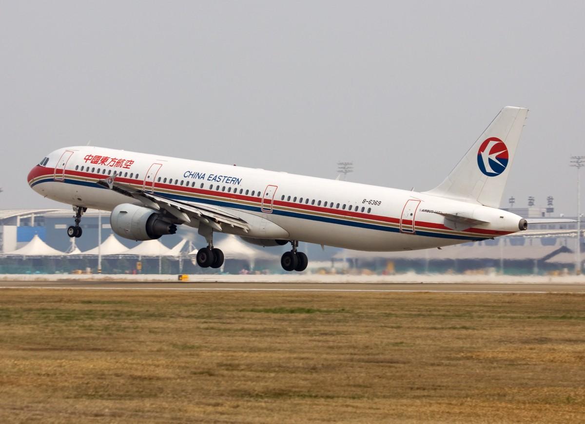 Re:[原创]…………321:飞棍………… AIRBUS A321-200 B-6369 中国南京禄口机场