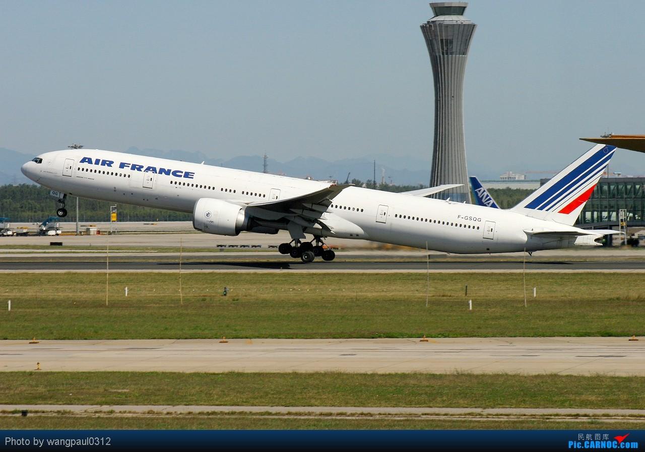 [原创]发帖不是为了其他目的,更多的是为了和大家分享航空摄影的快乐与成就!欢迎更多的航空摄影爱好者加入拍机的队伍! BOEING 777-328ER F-GSQG 北京首都国际机场