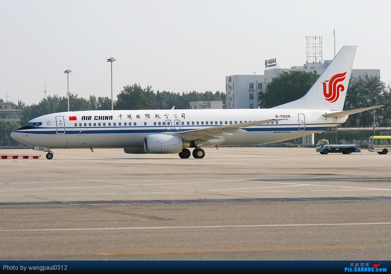 Re:[原创]发帖不是为了其他目的,更多的是为了和大家分享航空摄影的快乐与成就!欢迎更多的航空摄影爱好者加入拍机的队伍! BOEING 737-800 B-5508 北京首都国际机场