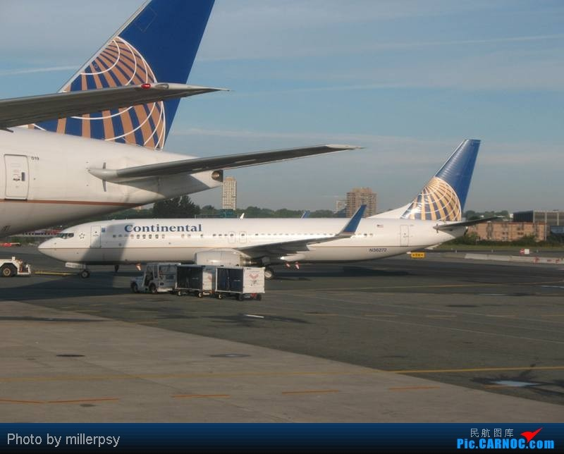 Re:[原创]大陆航空纽瓦克-波特兰之行 BOEING 737-800 N36272 美国纽瓦克机场