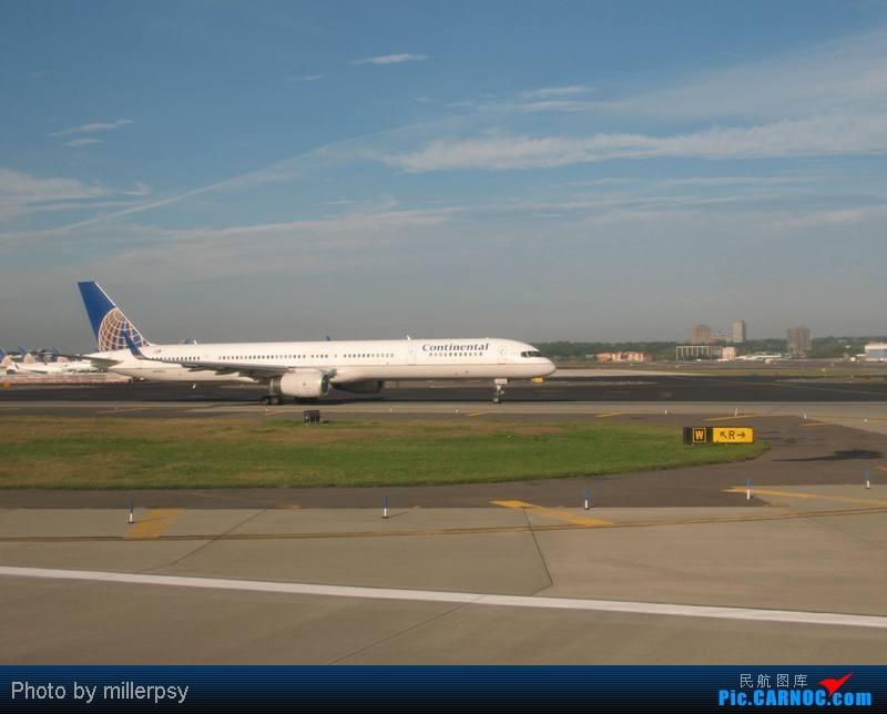Re:大陆航空纽瓦克-波特兰之行 BOEING 757-300 N75853 美国纽瓦克机场