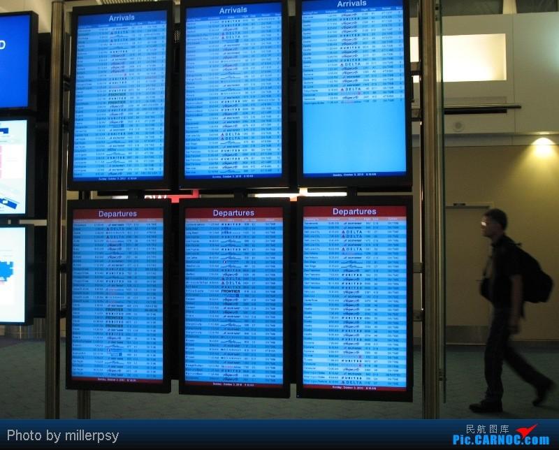 Re:[原创]大陆航空纽瓦克-波特兰之行    美国波特兰机场