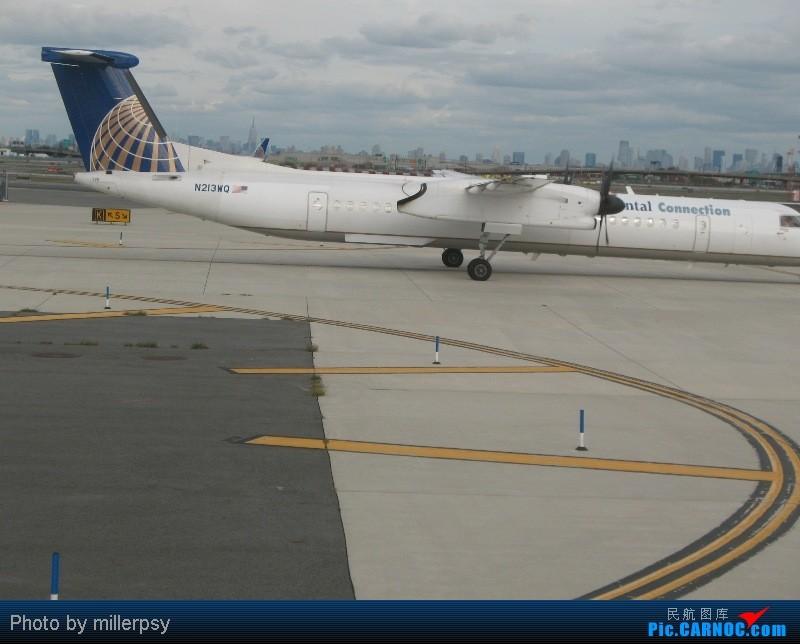 Re:[原创]大陆航空纽瓦克-波特兰之行 DE HAVILLAN CANADA DHC-8-400 N213WQ 美国纽瓦克机场