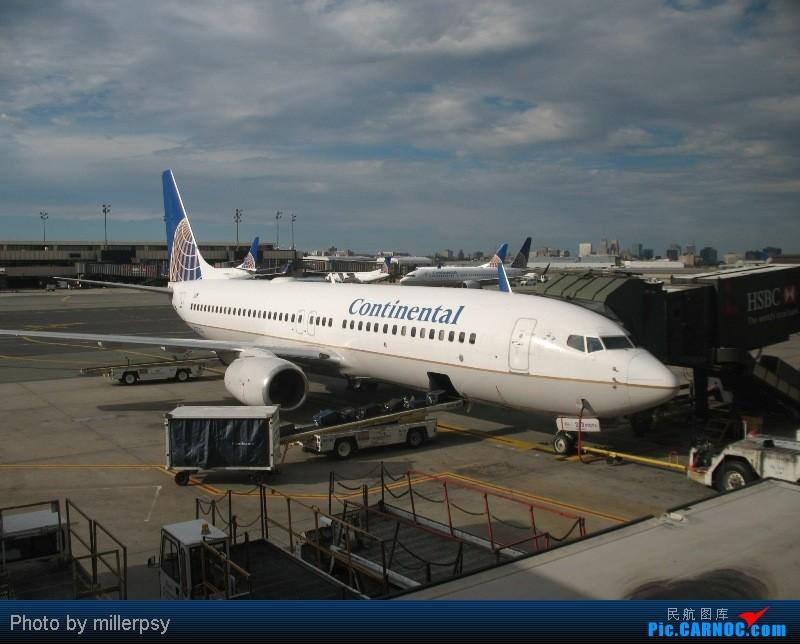 Re:[原创]大陆航空纽瓦克-波特兰之行 BOEING 737-800 N37253 美国纽瓦克机场