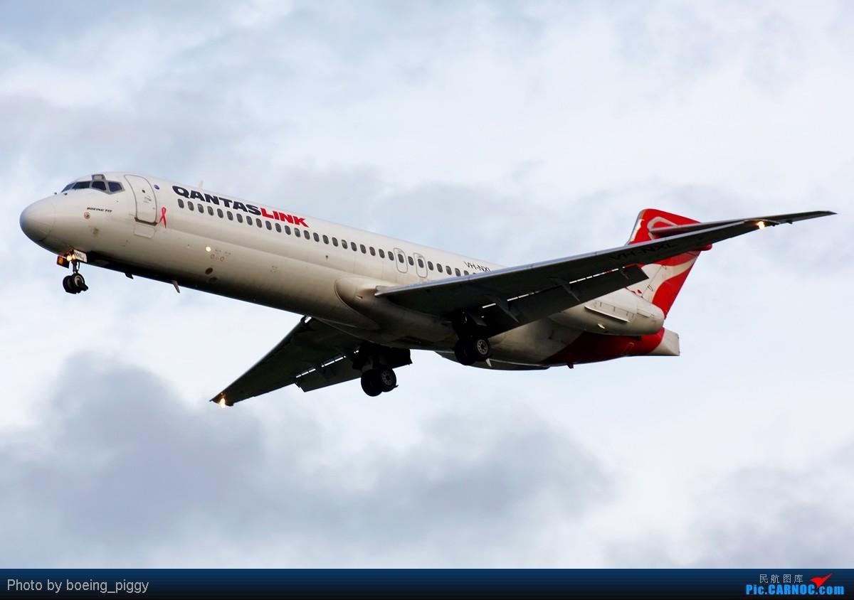 Re:[原创][SYD&TSV联合公报] 热烈庆祝kmwangchen同学名草有主 QFA阖家偕同神秘嘉宾前来祝福 BOEING 717-231 VH-NXL Cairns International Airport